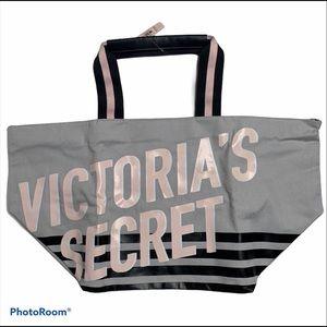 NWT Victoria's Secret Gray Tote Bag